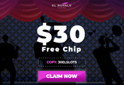 El Royale exclusive $30 free bonus