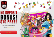 RedStag exclusive $10 free bonus
