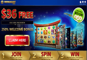 Win A Day Casino exclusive no deposit bonus